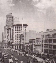 Downtown Newark - Early 50's