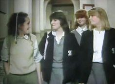 Some of the Grange Hill Girls. Programming For Kids, Kids Tv, Film Quotes, 40th Anniversary, My Childhood, 1970s, Tv Series, Actresses, Children