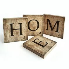 Coeur de la maison en bois horloge murale noir Chalk Board Lettre de stockage vintage
