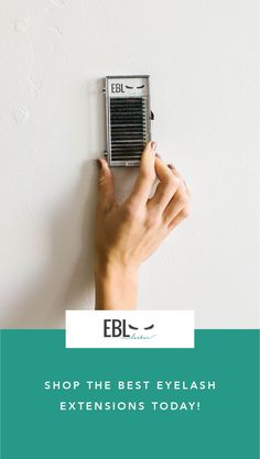 EBL Lashes are soft, flexible, and lightweight, they are everything and more that an artist needs!