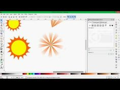 ▶ HOW TO CREATE A SUN WITH RAYS, INKSCAPE. - No Audio