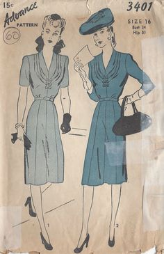 For many more Vintage Sewing and Knitting patterns visit my eBay shop                                                                         …
