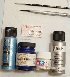Blythe eye chip painting tutorial