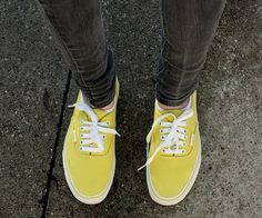 Had a dream about yellow keds...now I want some!