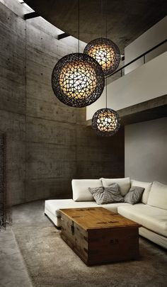 Learn To Decorate In A Creative Rustic Lighting Ideas It can be a complicated process for some people to tackle a project of home interior design. Home Design, Home Interior Design, Interior Architecture, Design Ideas, Interior Modern, Room Interior, Interior Painting, Gray Interior, Design Trends