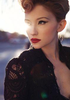 Haley Bennett. gorgeous.