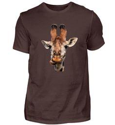 Giraffe T-Shirt Giraffe, Mens Tops, Fashion, Moda, Giraffes, Fashion Styles, Fasion