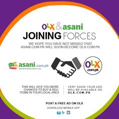 OLX & Asani joining forces!!