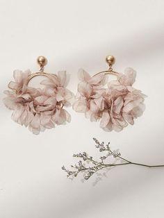 Nouvelle Goldpated Ethnique 18K Lustre Bijoux Bollywood D'Oreilles De Mariage