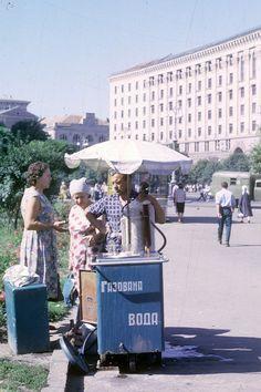 Киев. Продажа газированной воды