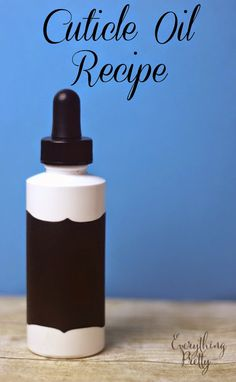 Strengthening Cuticle Oil Recipe