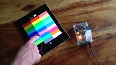 Project - Controlling LEDs from iOS Device on Raspberry Pi