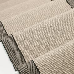 Designers and Makers of unique stripe runners, rugs and fabrics in natural fibres. Simply Luxury for Modern Living Neutral Carpet, Beige Carpet, Modern Carpet, Fur Carpet, Brown Carpet, Black Carpet, Patterned Carpet, Carpet Colors, Carpet Flooring