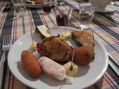 Sicilian antipasto - Castella della Rosa, Caltigirone, Sicily