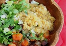 RECIPE: LENTILS WITH ROASTED BEETS AND CARROTS - Try this unique lentil salad for a fiber-packed filling salad.