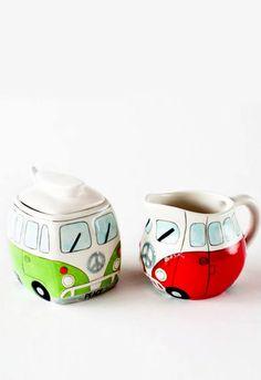 Caravan Cream & Sugar Set
