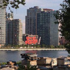 Long Island City Pepsi sign - @jeffreynyc