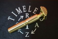 The Timeless Razor Bronze Double Edge Safety Razor is a COMPLETELY DIFFERENT razor than any of our other versions. This is a fully CNC milled Safety Razor made from solid Bronze. This razor is only available in one option as a full razor (with Best Shaving Razor, Wet Shaving, Best Safety Razor, Blade, Bronze, Stainless Steel, School, Schools, Llamas
