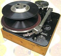 The excellent Dual 1001, from 1949, was originally monaural. Many were converted to stereo in the late-1950s.