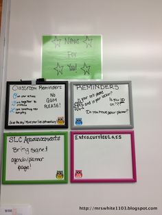 Teaching and Tech in the Middle School Classroom!: Almost Ready! - Awesome organization and decoration