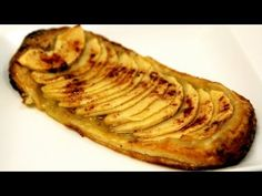 Easy Apple Pastry (Tarte Fine Aux Pommes) Recipe - Cooking with Alia