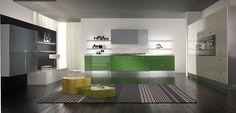 Una #cucina colorata, simpatica ed elegante… MIKA » www.cucinesse.it/cucine/mika