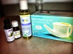 My rescue remedy for a stuffy nose and sinus problems.    1. Irrigate with neti pot in both nostrils.  2. Make a deep breathing mixture of peppermint, lavender oil and eucalyptus with warm water in a bowl to take in after clearing out nose.   *All items can be bought at Whole Foods.  *Warning: mixture can be a tad strong if too much of any ingredient is added.