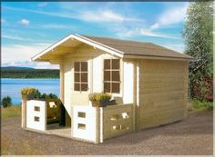 (40mm) 280x280 (7,84m2) H. 1875 + kate + rahti?? Shed, Outdoor Structures, Sheds, Tool Storage, Barn