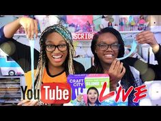 YouTube LIVE with the Froggy's Craft City Karina Garcia Official SLIME KIT plus Q&A and Fan Mail - YouTube