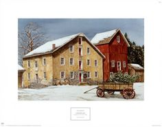Winter's Day Art Print ~~ Dan Campanelli