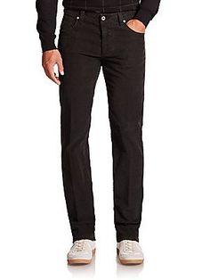 Saks Fifth Avenue Collection Luca Five-Pocket Corduroy Pants -