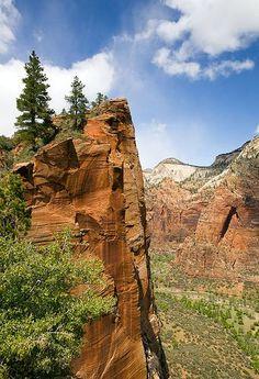 Angel's Landing Trail - Zion National Park, Utah