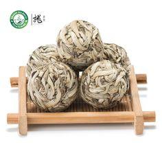Ball-Shaped Bai Hao Yin Zhen Handmade Silver Needle Pearl White Tea #DragonTeaHouse