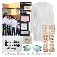 """""""The Bootsy Bellow July 4th Party w/ Harry"""" by ana-a-m ❤ liked on Polyvore featuring Zimmermann, Ivy Kirzhner, Topshop, NARS Cosmetics and Forever 21"""