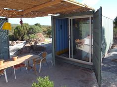 Relaxing, Tropical Shipping Container House | Truth is Treason