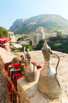 Mostar, Bosnia and Herzegovina http://www.travelbrochures.org/37/europa/bosnia-and-herzegovina-trip-tips #bosnia #carpets #rugs