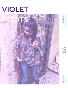 "Violet Roots Issue 06 is a ""Letter from the Editor"" series! Each month get a sneak peak at what's to come & gain access to exclusive content!"
