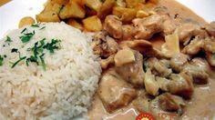Cocina – Recetas y Consejos Hungarian Cuisine, Hungarian Recipes, Portuguese Recipes, Pork Recipes, Chicken Recipes, Cooking Recipes, Healthy Recipes, Pollo Chicken, Good Food