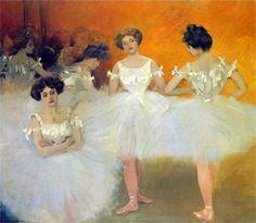 CASAS, Ramon Spanish Modernisme corps de ballet Barcelona, - Wikipedia, the free encyclopedia Ballet Painting, Dance Paintings, Spanish Painters, Spanish Artists, Ramones, Famous Artists, Great Artists, Liberty, Ballet Performances