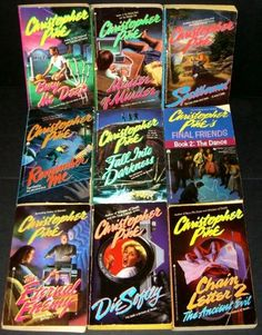 Christopher Pike books. I can't believe my mom let me read these...