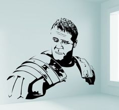 This film it is so awesome, decorate the room with this sticker! #gladiator #Wallsticker #awesome