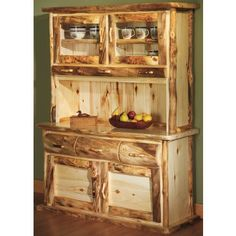 """Mountain Woods Aspen 5' Buffet with Hutchtop at Cabela's"" - So pretty"