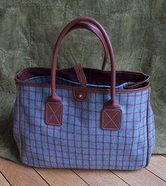 Sequana's Tartan Tote bags are elegant and spacious.