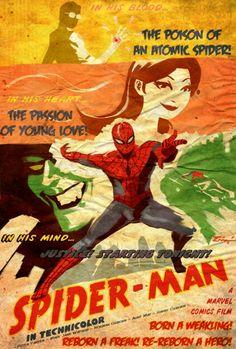 Poster Art: Spiderman