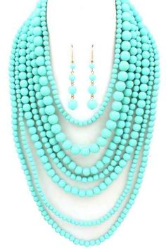 """Multi strand Necklace $18.50 at escloset.com ! use code """"laurenkangas"""" for another 5% off"""