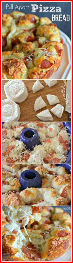 Pull apart pizza is absolutely delicious and fun to make. These pull apart pizza bread bites are great for an afternoon lunch or if you're planning to watch a movie with the family. You can find more recipes at Hip2Save.com. Enjoy!