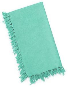 Fiesta Fringed Dinner Napkins, Set of 4 transitional-napkins