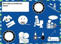 Dagritmekaarten - gratisbeloningskaart.nl Manners For Kids, Kids Sleep, Life Organization, Raising Kids, Good Company, Child Development, Social Platform, Getting Organized, Diy For Kids