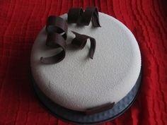 Chocolate mousse cake/Шоколадный муссовый торт Сonsist:/Состав:Chocolate crispy base,сoffee cremeux,cherry confit,сhocolate mousse with rum/Шоколадный штройзель,кофейное кремю,вишневое конфи,шоколадный мусс с ромом
