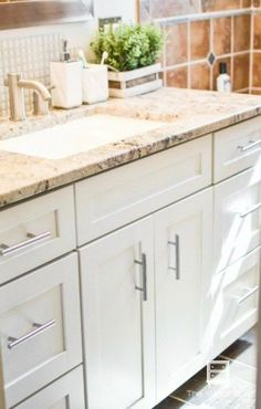 The Wood Spa Painting Bathroom Cabinets-1-19  HOW I PAINTED MY BATHROOM CABINETS (WITH VIDEO TUTORIAL) #bathroomcabinets